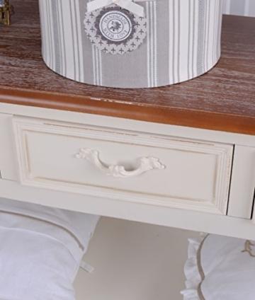 Antike Anrichte, Konsole, Sideboard, Regal, Ablage in Villa-Vintage-Art, aus Holz in der Farbe Weiß, einzigartig schönes Möbelstück - Palazzo Exclusive - 2