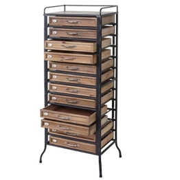 Apotheker-Schrank HWC-A43, Tanne Holz massiv Vintage Shabby-Look 129x55x38cm - 1