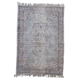 Better & Best 0565812–Teppich Baumwolle Art Vintage, 170x 240cm, blau - 1