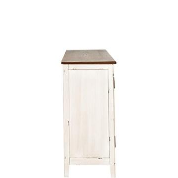 BUTLERS Cabott Cove Kommode im Landhausstil mit 4 Schubladen und 2 Türen - Sideboard Vintage-Look - Holz - 128 x 41,5 x 86,5 cm - 5