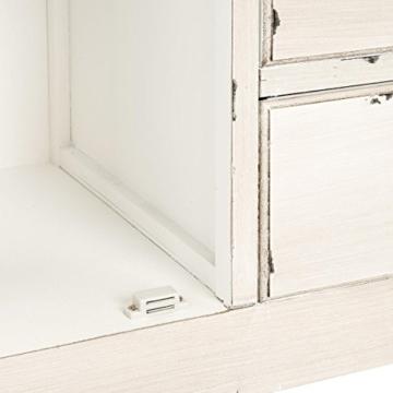 BUTLERS Cabott Cove Kommode im Landhausstil mit 4 Schubladen und 2 Türen - Sideboard Vintage-Look - Holz - 128 x 41,5 x 86,5 cm - 8