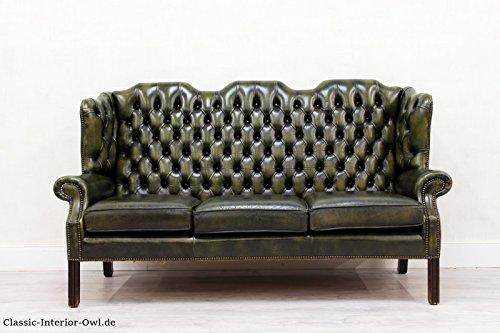 chesterfield chippendale sofa leder antik vintage couch vintage brothers. Black Bedroom Furniture Sets. Home Design Ideas