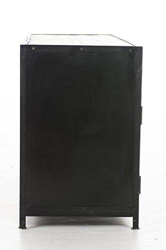 CLP Sideboard SAKRI im Industrie Design, Materialmix aus Holz und Metall, 145x50 cm, Höhe 76 cm Bunt - 3
