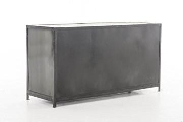 CLP Sideboard SAKRI im Industrie Design, Materialmix aus Holz und Metall, 145x50 cm, Höhe 76 cm Bunt - 4