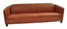 Clubsofa Rocket 4-Sitzer Vintage Leder, hell - 1