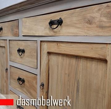dasmöbelwerk Buffet Antik Vintage Kommode Sideboard Anrichte Schubladen Türen Schrank - 3