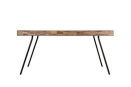 Esstisch Suri aus recyceltem Teak Holz Vintage Tisch 160 x 80 von Zuiver Schreibtisch Arbeitstisch - 1