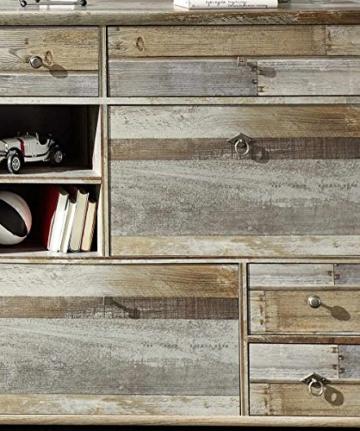 Garderobe, Set, Garderobenschrank, Flurgarderobe, Garderobenmöbel, Dielenmöbel, Flurmöbel, Wandgerderobe, Driftwood, Treibholz, Vintage - 5