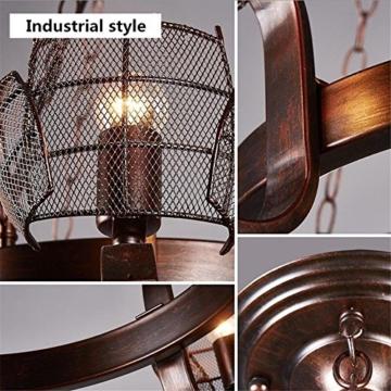 GAYY Innenbeleuchtung Kronleuchter Leuchten Kronleuchter Pendelleuchte  Vintage Industrial Creative Eisen Deckenleuchten 6 Lampe Für Wohnzimmer  Schlafzimmer ...