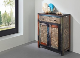GOA 3552 Bad Kommode, Holz, 31 x 67 x 83 cm, bunt - 1