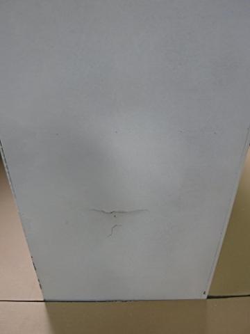 J-Line Weiß Kleiderschrank mit 2 Holzlatten weißen Lamellen 120 - 2