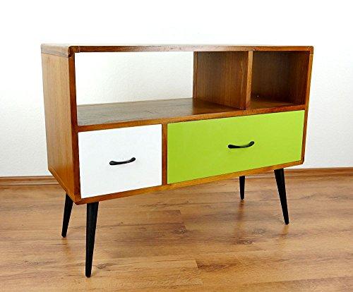 Java Retro Sideboard aus Teakholz | Vintage TV-Bank aus Massivholz |  Teakholz Lowboard | Asia HiFi-Möbel (Handarbeit) | Asiatische Möbel der  Marke ...