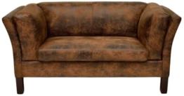 Kare 77566 Sofa Canapee 2-Sitzer Vintage Eco - 1