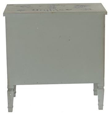 Kommode Aveiro Sideboard Schrank Shabby-Look, Vintage, 80x79x40cm - 6