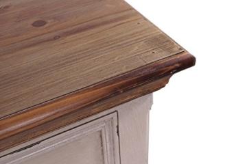 Kommode Tondern Holz Vintage Look antikweiß - 7