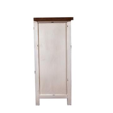 Landhausmöbel - Kommode Bretagne - Landhaus Schrank - Holz Vintage Look creme weiß - 4