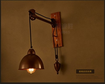 Larsure Vintage Industrial Style Wandleuchte Wandleuchte Lampe Retro ...