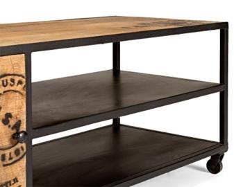 massivum Lowboard JayEdgar 120x47x45 cm Mango braun lackiert - 4