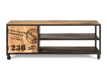 massivum Lowboard JayEdgar 120x47x45 cm Mango braun lackiert - 6
