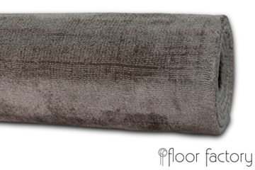 Moderner Teppich Lounge grau 200x290cm - edler Designer Teppich im Vintage Look - 6
