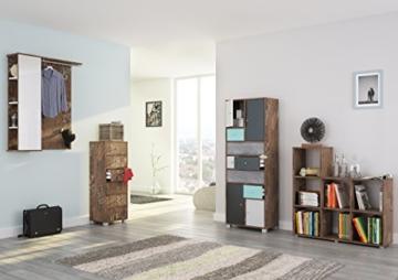 Schildmeyer 127866 Kommode, 40 x 113,5 x 33 cm, panamaeiche dekor - 1