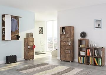 Schildmeyer 127866 Kommode, 40 x 113,5 x 33 cm, panamaeiche dekor - 2