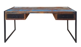 Schreibtisch Bali mit 2 Schubladen - 1