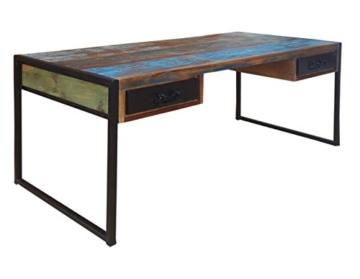 Schreibtisch Bali mit 2 Schubladen - 2