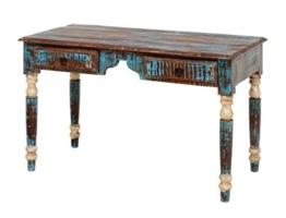 Schreibtisch Mit Verzierten Tischbeinen
