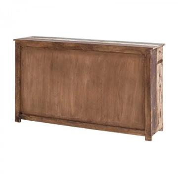 Sideboard Vintage Holz Bunt Massiv bemalt lackiert Kommode 150 cm Breit Mango Massivholz - 6