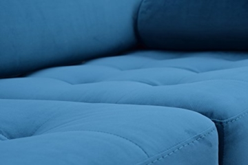 Sofa Venice Vintage Samt Blau 3 Sitzer 230 - 6