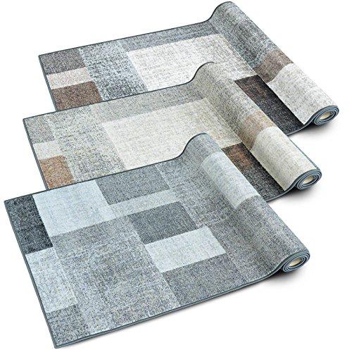 teppichl ufer lucano patchwork muster im vintage look. Black Bedroom Furniture Sets. Home Design Ideas