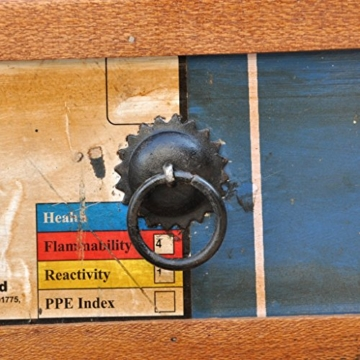 vidaXL Antik TV Hifi Rack Lowboard Sideboard Fernsehtisch Vintage Holz Teak Retro 4 - 8