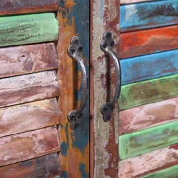 vidaXL Massivholz Sideboard Kommode Highboard TV Schrank Retro Vintage Recycelt - 2
