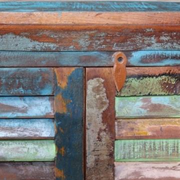 vidaXL Massivholz Sideboard Kommode Highboard TV Schrank Retro Vintage Recycelt - 9
