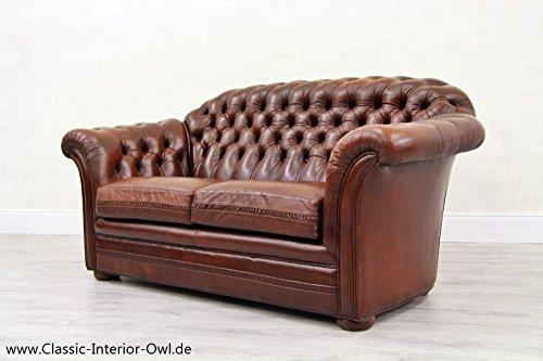 chesterfield chippendale sofa leder antik vintage couch. Black Bedroom Furniture Sets. Home Design Ideas