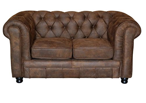 oxford chesterfield 2 sitzer vintage braun sofa outlet wallisellen vintage brothers. Black Bedroom Furniture Sets. Home Design Ideas