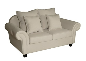 sofa 2 sitzer weiss florida sofa outlet wallisellen vintage brothers. Black Bedroom Furniture Sets. Home Design Ideas