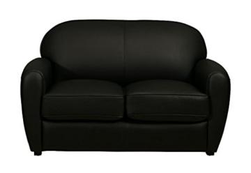 sofa vintage schwarz 2 sitzer sofa outlet wallisellen vintage brothers. Black Bedroom Furniture Sets. Home Design Ideas