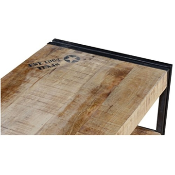 vintage industrie loft style tv lowboard iowa mit 2. Black Bedroom Furniture Sets. Home Design Ideas