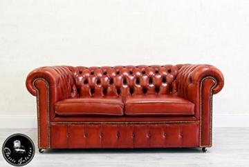 classic interior chesterfield 2er couch englisch chippendale sofa leder vintage vintage brothers. Black Bedroom Furniture Sets. Home Design Ideas
